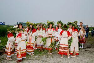 Празднование дня Ивана Купалы 7 июня 2012