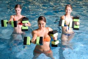 Плавание / Бассейн - Укрепить пресс и ноги за короткое