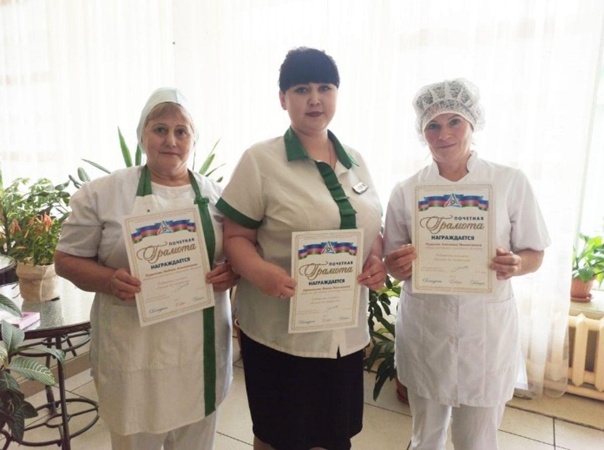 Повара ресторана санатория Катунь